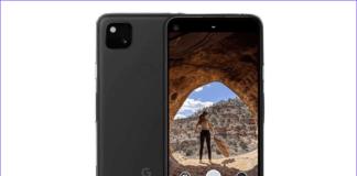 Pixel 4a camera app
