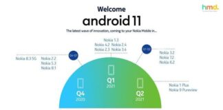 Android 11 update for Nokia devices