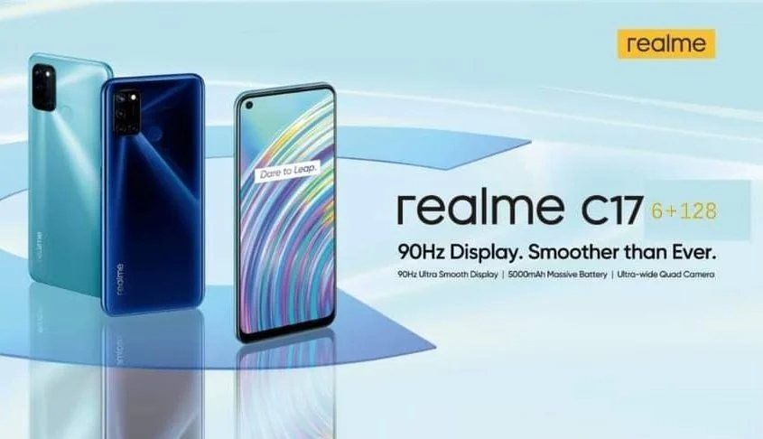 Realme C17 launch poster