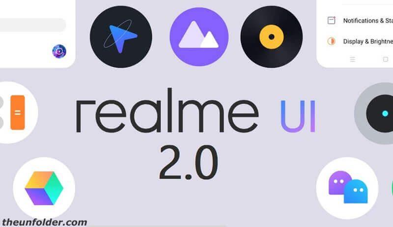 Realme UI 2.0 eligible device list