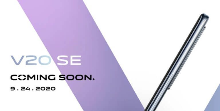 Vivo V20 SE launch details
