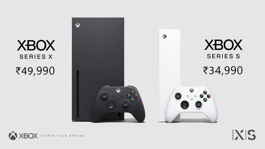 Xbox Series X and Xbox Series S Indian pricing