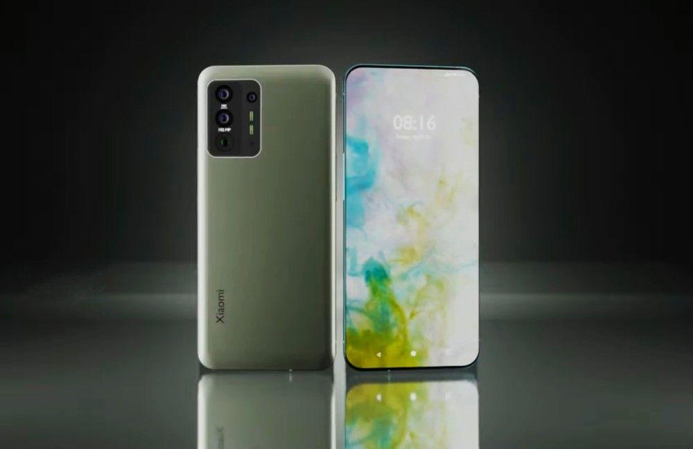 Xiaomi under display selfie camera render