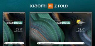 Xiaomi Z Fold smartphone