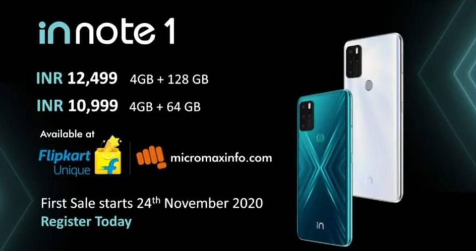 Micromax IN Note 1 and IN 1B