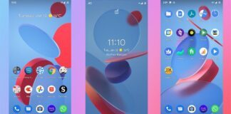 MIUI 12 Geometry live wallpapers