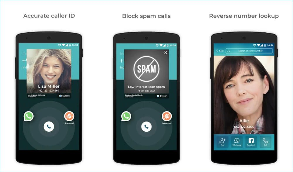 Eyecon: Caller ID, Calls, and Phone Contacts