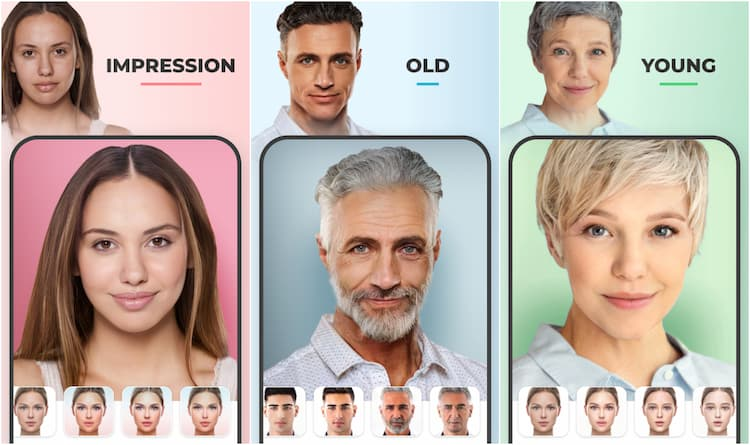 FaceApp on Play Store