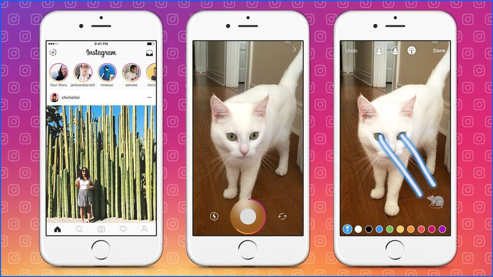 How to Put Two Pictures on One Instagram Story
