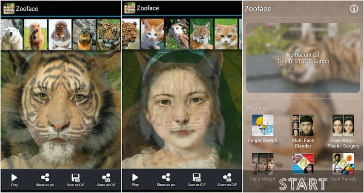 Face Morph: Animal Face on Play Store