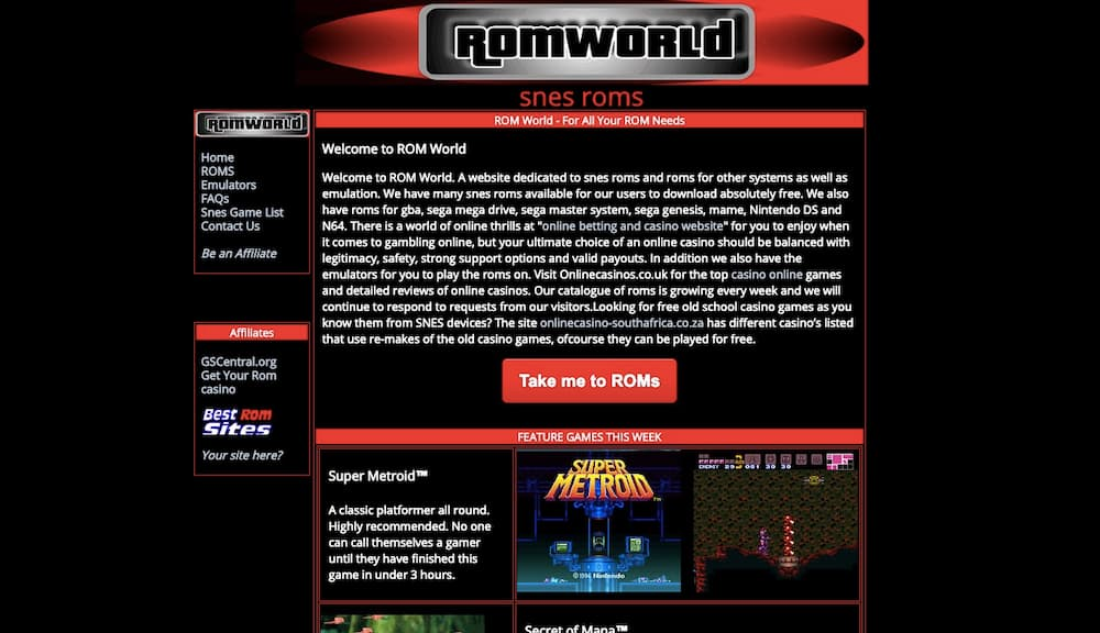 ROM World Online